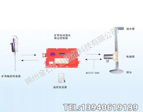 矿用触控自动洒水降尘装置